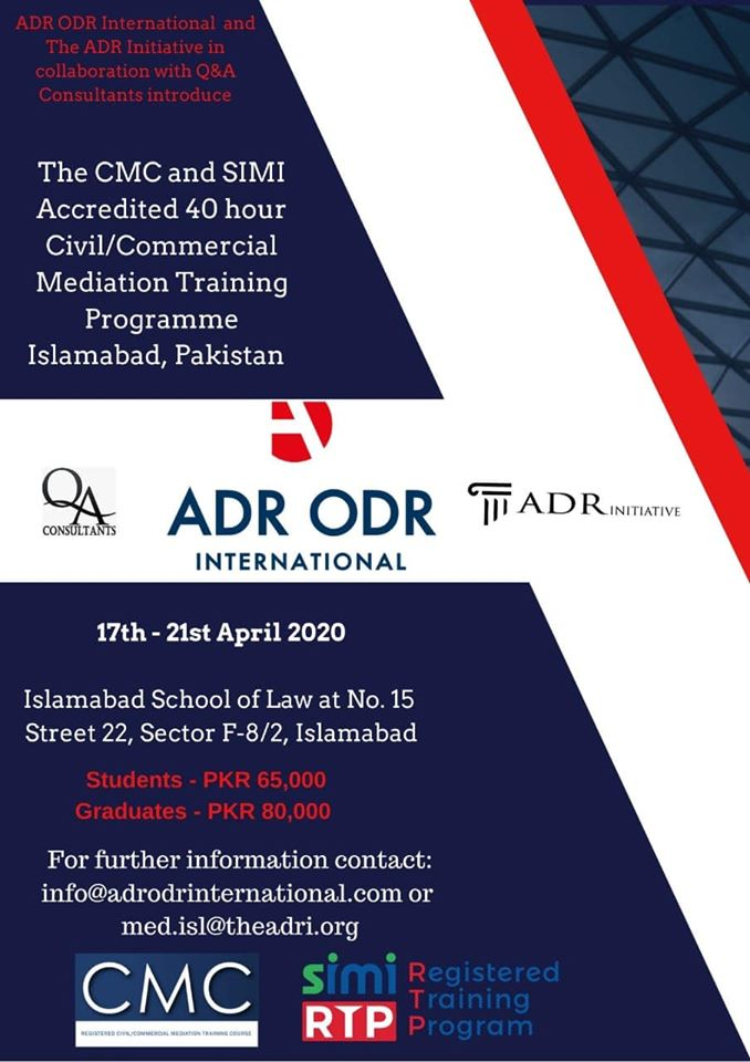 Civil-Commercial Mediator Training Programme
