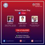 virtual open day event